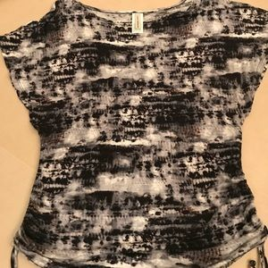 Lucky Brand Tye Dye Shirt Cover up